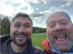 Micharl und Christian